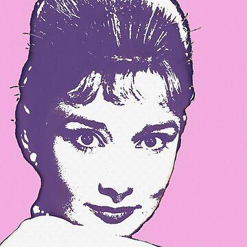 Audrey Hepburn by artcinemagaller