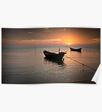 Ha Tien Sunset Poster