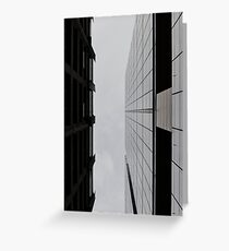 Abstract Architecture # 51 Greeting Card