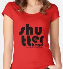 Shu-tter-head Awesome Design! Women's Fitted Scoop T-Shirt