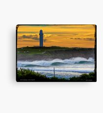 Wollongong City Beach-stacked Canvas Print