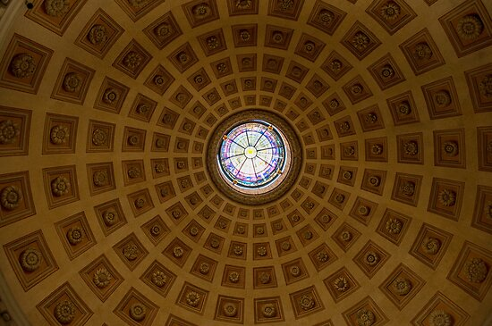 The dome of St. Mary of the Angels by Roberto Bettacchi