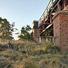 Tenterfield Creek Railway Bridge by William Bullimore