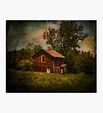 Pucky Huddle Farmhand House Photographic Print