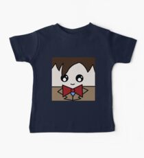 Dr Who 11th Doctor Squ'ed Baby Tee