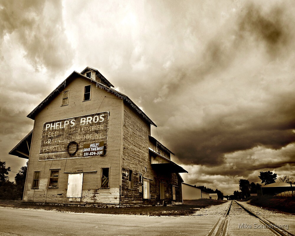 Phelps Bros Mill by Mike Sonnenberg