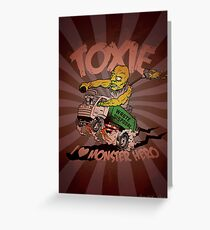 Toxie - I Heart The Monster Hero Greeting Card