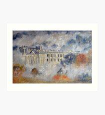 Chatsworth, Autumn Art Print