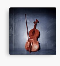 The Red Violin Canvas Print