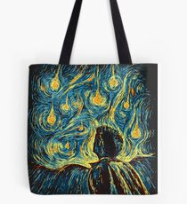 Angels, They're Falling (Supernatural) Tote Bag