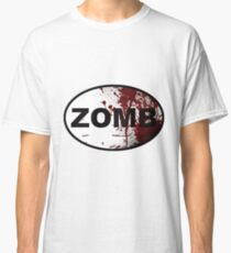 OutRunning Zombies Classic T-Shirt