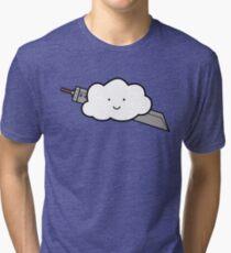 Cloud Fantasy Tri-blend T-Shirt