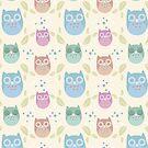 Muted Owls by SpiritLeTitan