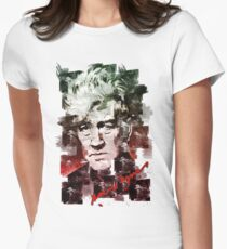 David Lynch Watercolour Womens Fitted T-Shirt