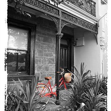 Red Bike by vanWriten
