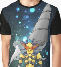 Mega Heaven Piercing Giga Beedrill Graphic T-Shirt