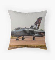 617 Sqn Tornado Throw Pillow
