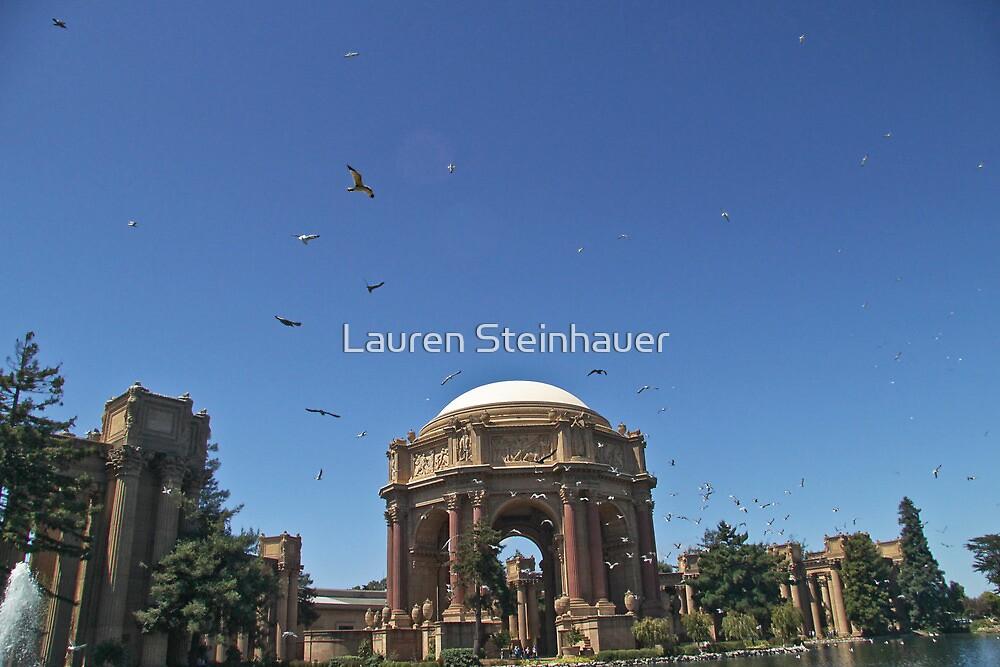 Palace with Birds by Lauren Steinhauer