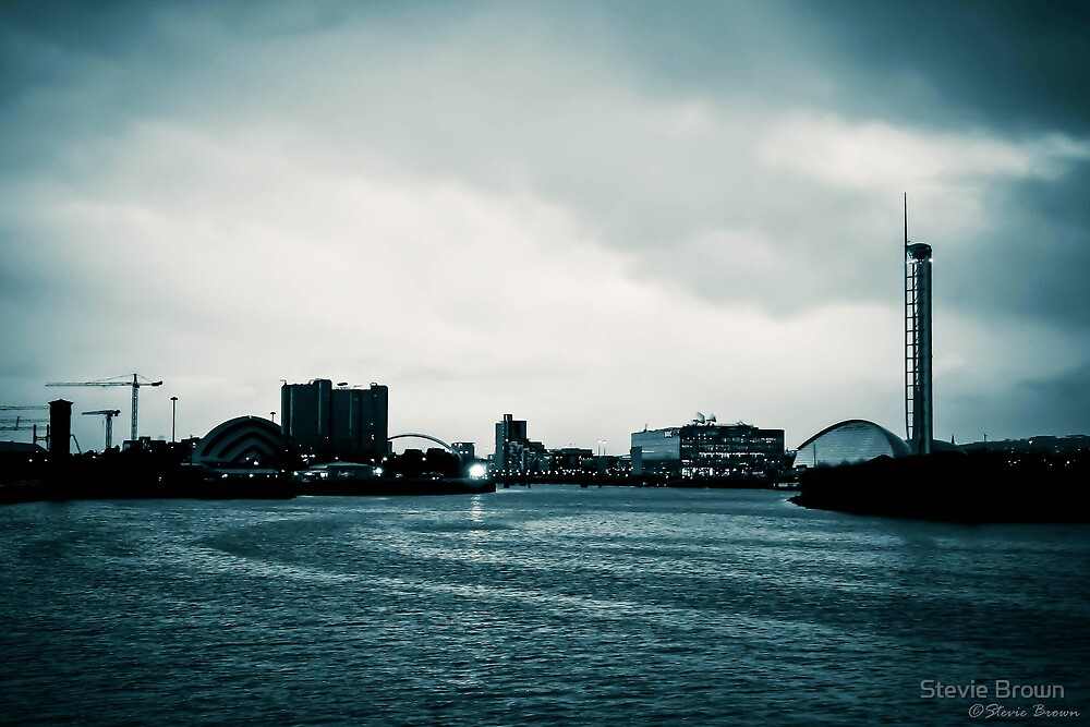 Clyde in the evening - filtered by Stevie B