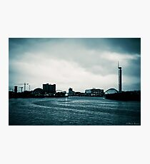 Clyde in the evening - filtered Photographic Print
