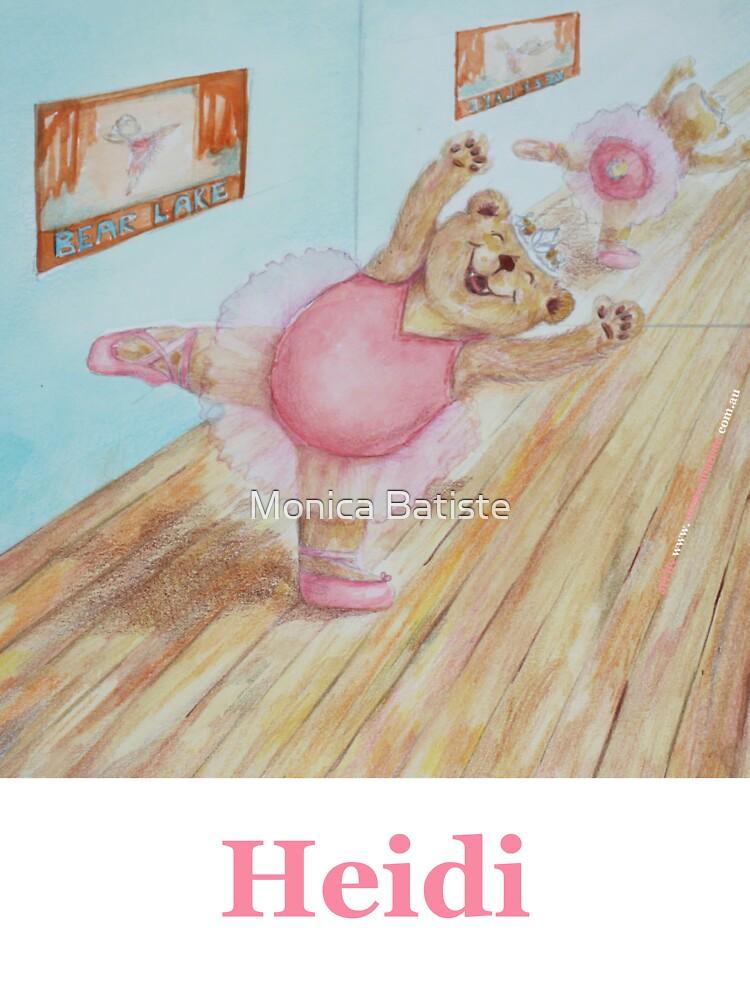 Heidi Ballet Bear by Monica Batiste