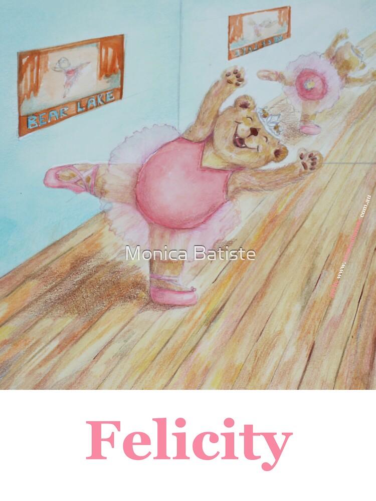 Felicity Ballet Bear by Monica Batiste