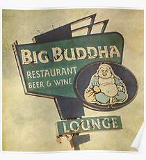 Big Buddha Lounge Poster
