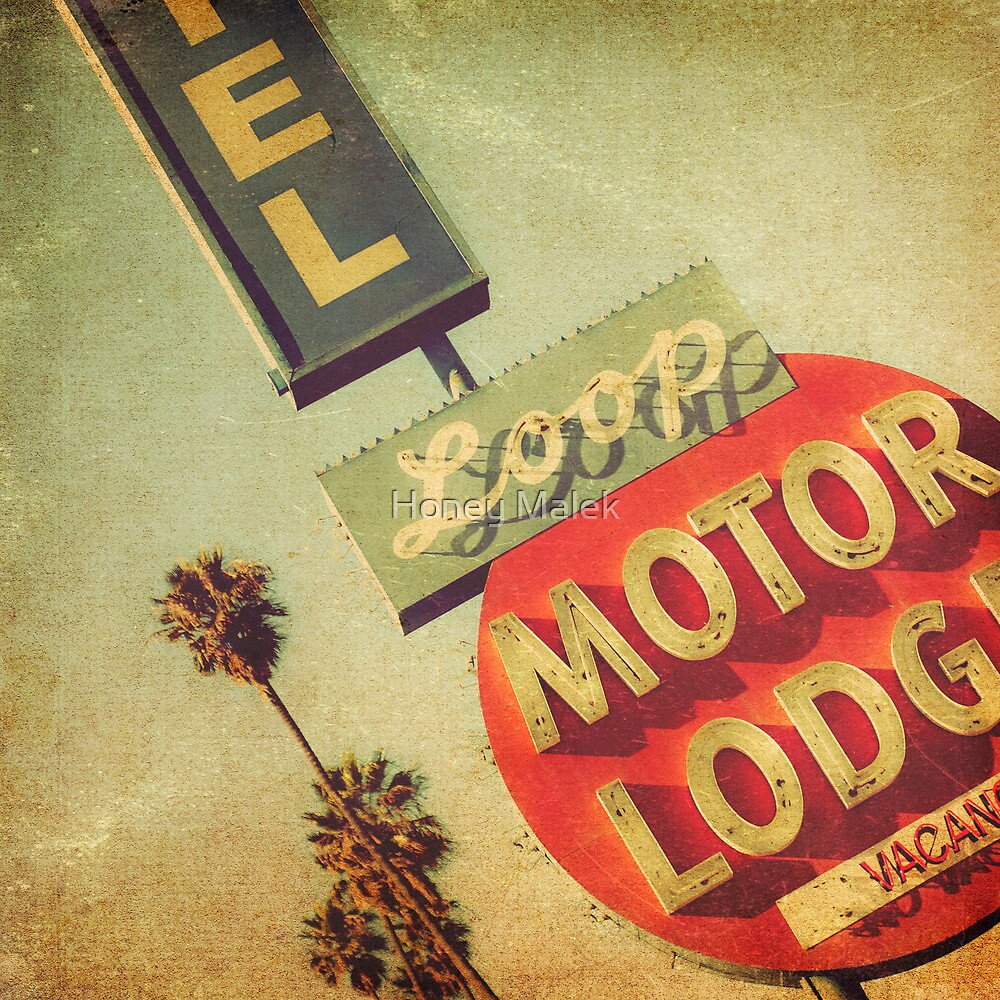 Loop Motel by Honey Malek