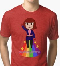 Vivian loves Rainbows Tri-blend T-Shirt