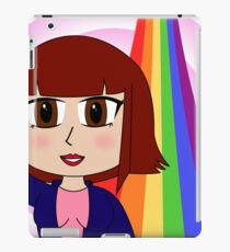 Vivian loves Rainbows iPad Case/Skin