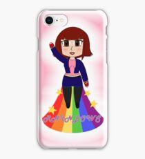 Vivian loves Rainbows iPhone Case/Skin
