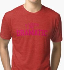 Regina George 'A Little Bit Dramatic' Mean Girls Tri-blend T-Shirt