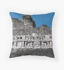 Xunantunich Mayan Ruins in Belize Throw Pillow