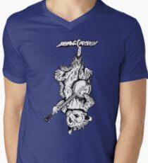 Possum Banjo Mens V-Neck T-Shirt