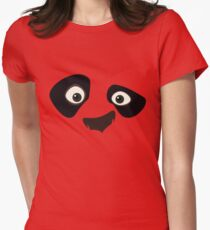 Kung Fu Panda Womens Fitted T-Shirt