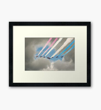 Fly Through Framed Print