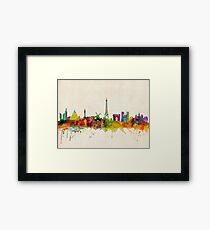 Paris Skyline Framed Print