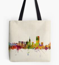 San Francisco City Skyline Tote Bag
