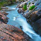 Above Serpentine Falls 3 by Scott  Cook©