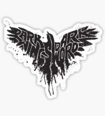 the dark crow Sticker