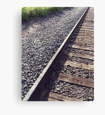 Railroad Track Canvas Print