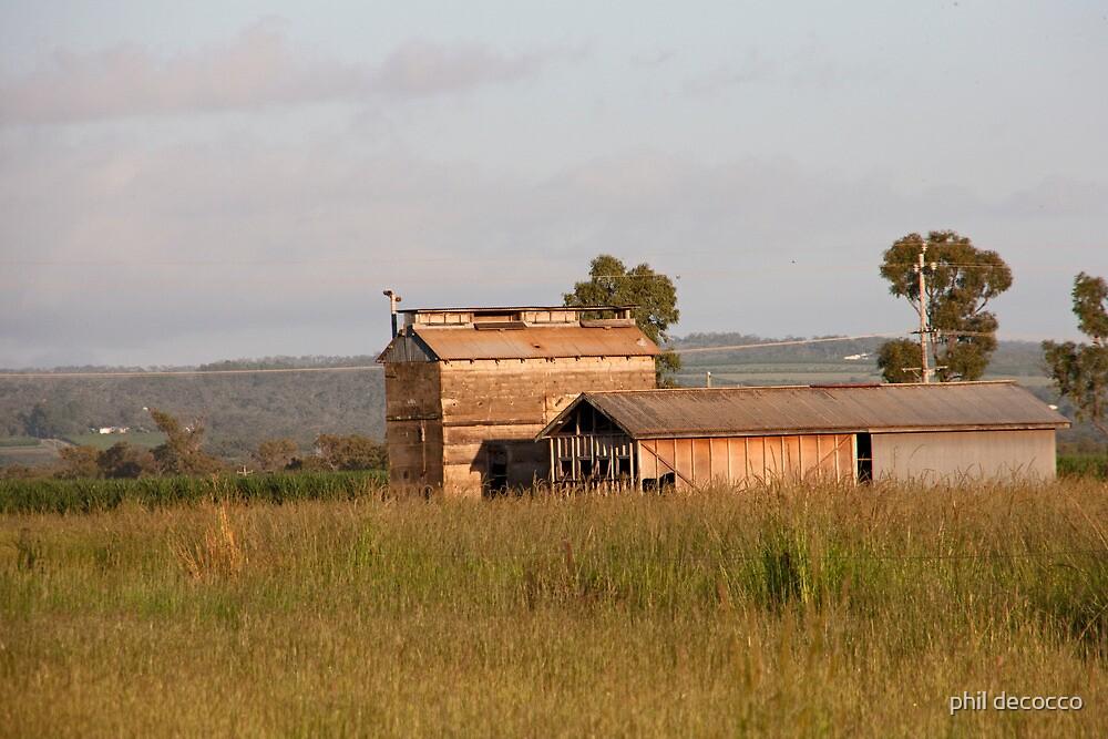 Australia Station Barn  by phil decocco