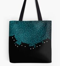 Good night squirrels Tote Bag