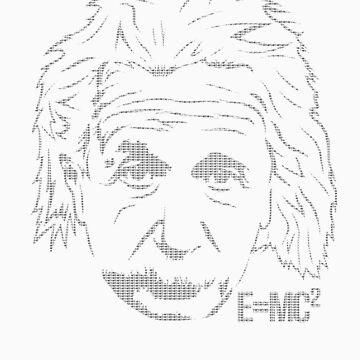 Excuse Me While I Science: Albert Einstein = E=mc² von AlexNoir