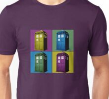 Pop Art Tardis  Unisex T-Shirt