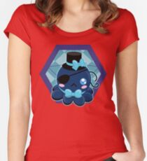 Octo-cute Women's Fitted Scoop T-Shirt