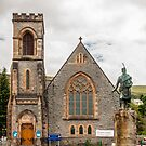 Building, Duncansburgh Macintosh parish church, Fort William, Scotland by Hugh McKean