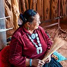 Old Navajo Woman. by philw