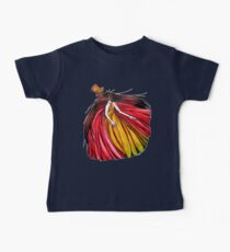 """""""Who is the mad hatter ?"""" : Le Chaperon Rouge / The Red Riding Hood Baby Tee"""