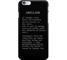 Candy Black iPhone Case/Skin